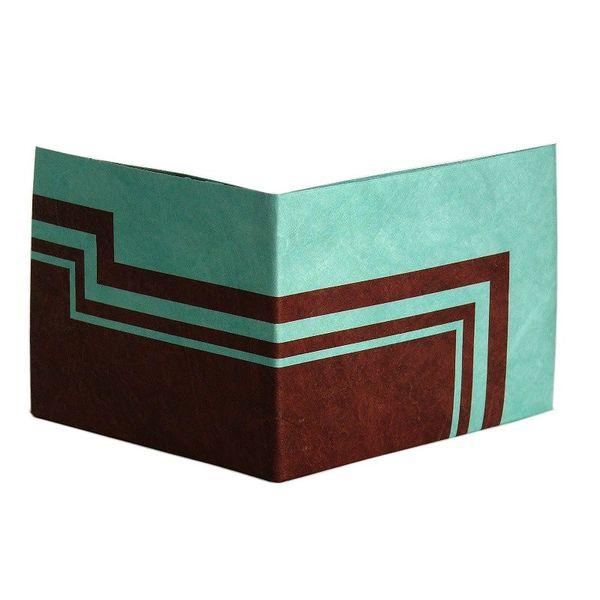 Peněženka Ice and Land - z pevného a voděodolného papíru.