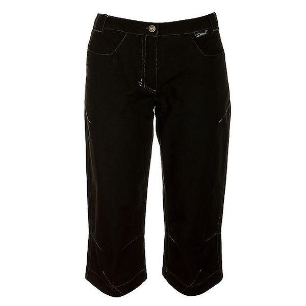 Dámské černé 3/4 kalhoty Hannah