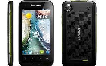 Mobilní telefon dual SIM Lenovo A660 se slevou 52 %!