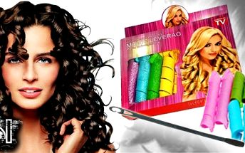 Magické natáčky, které Vám pomohou mít vlasy snů! Sada natáček na všechy druhy vlasů! Chcete mít krásné kurdlinky? Nyní již nemusíte chodit ke kadeřníkovi - domácí sada!