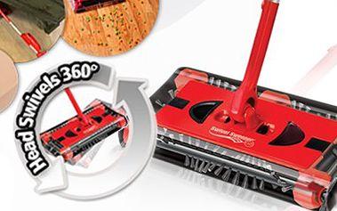 Nová posila do domácnosti! Elektrický kartáč Swivel Sweeper. Praktický bezdrátový vysavač se zkušenostmi 10 milionů prodaných kusů! Lehce uklidí i těžce dostupná místa!!