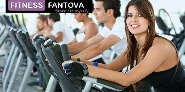 Permanentka fitness Praha s 55% slevou