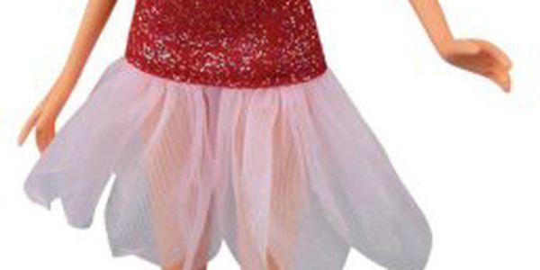 Panenka s křidélky Winx Fashion Fairy - Stella