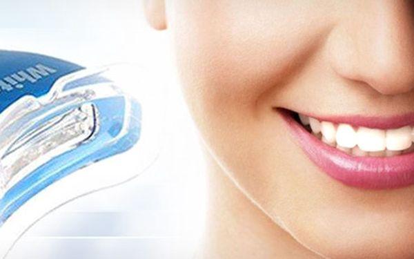 Zářivě bílé zuby téměř na počkání! WHITE LIGHT - bělicí systém za pouhých 99 Kč!