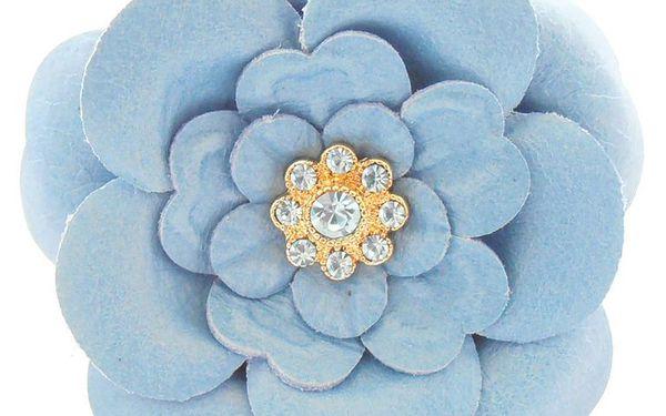 Sponka do vlasů Dainty Damsel WALSH bledě modrá květina