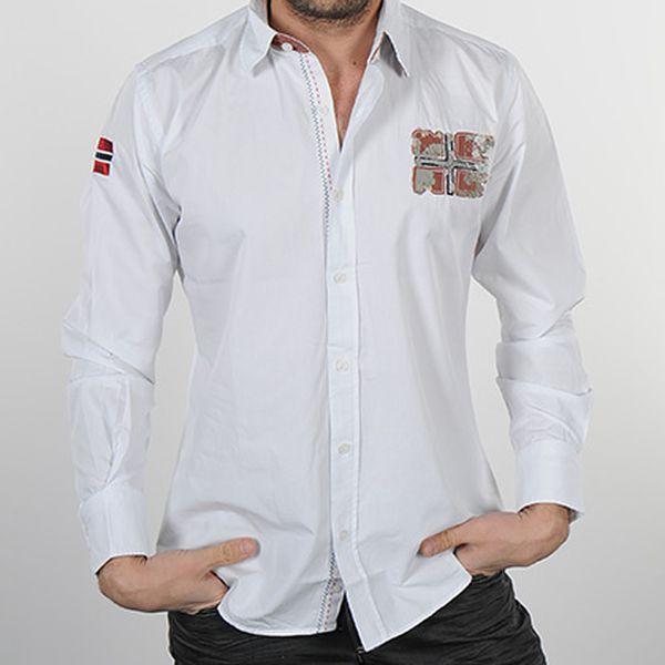 Pánská bílá košile