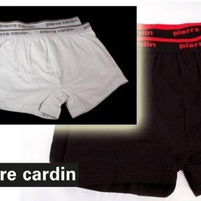 Značkové černé nebo bílé pánské prádlo Pierre Cardin