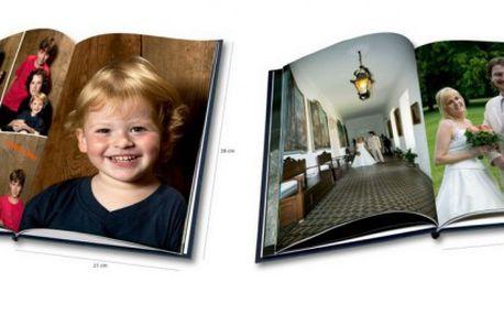 Kvalitní fotokniha ve formátu A4 o rozsahu 44 nebo 84 stran - platnost až do října!