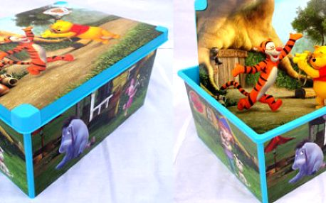Dekorativní úložný box s oblíbeným medvídkem Pú za 237 Kč vč. poštovného!