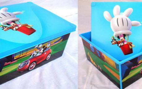 Krásný úložný box s Mickey Mousem - 244 Kč včetně poštovného,
