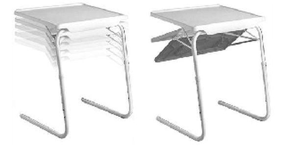 Table Mate vč. doručení - univerzální stolek si můžete kdykoliv přizpůsobit podle svých potřeb!