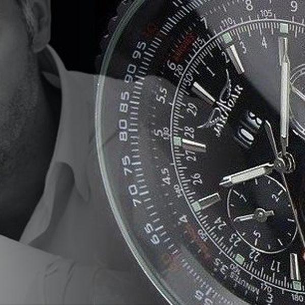 Luxusní automatické hodinky Winner Tourbillion z nerezové oceli