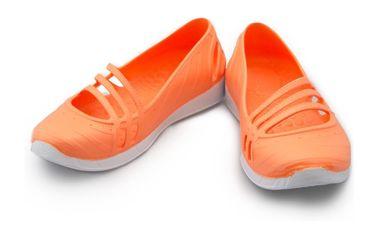 Dámské baleríny Adidas oranžovo-bílé