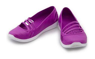 Dámské baleríny Adidas fialovo-bílé