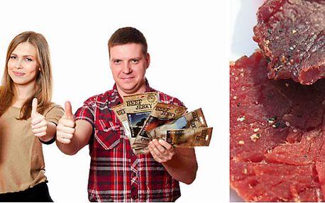 Balíčky výtečného sušeného masa - energie vždy po ruce