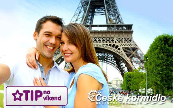Romantická Paříž – 4denní zájezd s ubytováním