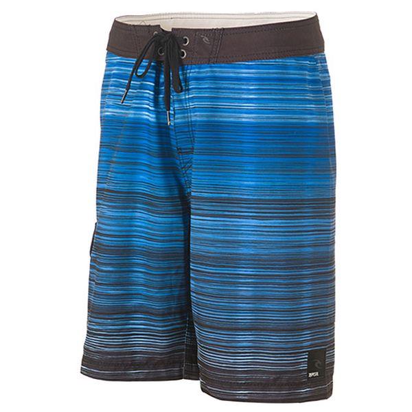 Modré duhové šortky