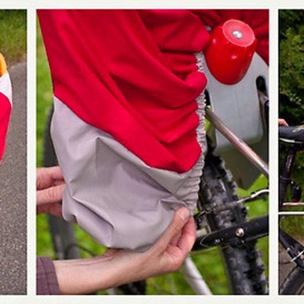 Dětská pláštěnka na kolo