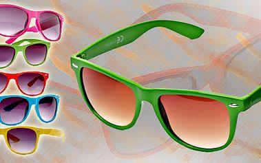 Skvělá letní stylová ochrana proti slunci! Brýle ve stylu Wayfarer! Největší hit tohoto léta - udělejte sobě, svým kamarádům či dětem radost UNISEX brýle Wayfarer jsou to pravé!