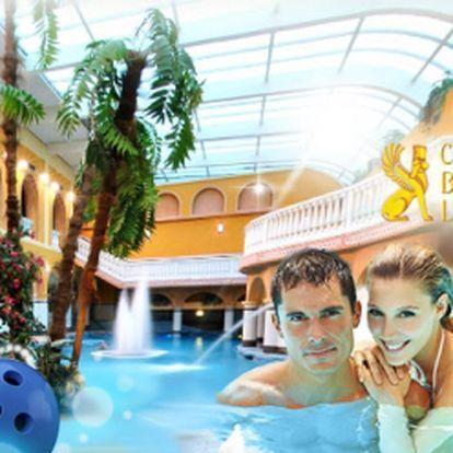 Hotel Babylon**** nabízí luxusní DVA DNY s POLOPENZÍ a neomezeným vstupem do AQUAPARKU, vstupem do XD KINA a hodinou bowlingu, jen za 2899 Kč PRO DVA! Sleva 35%!