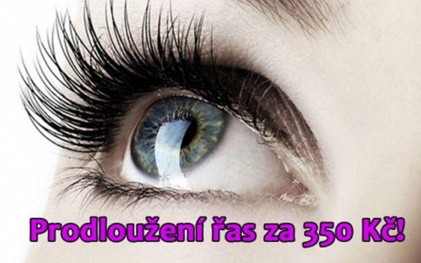 ŘASA na ŘASU - nejlepší metoda prodloužení řas! Sleva i na DOPLNĚNÍ ve studiu Iveta u metra Kobylisy! Dokonalý vzhled vašich očí bude stát za to!!!