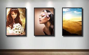 Fotoobraz na plátně canvas s kvalitním dřevěným rámem