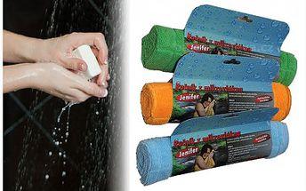 3 ks speciálních ručníků jen za 219 Kč. Speciální lehké mikrovlákno lépe saje než klasické froté ručníky. Navíc jsou ručníky ultratenké a dobře skladné. Skvělé na dovolenou a k vodě!