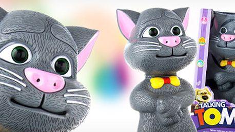 Chcete udělat radost svému dítěti? Určitě se mu bude líbit mluvící kocour Talking Tom - skvělá mluvící kočka, která vtipně opakuje to co Vy řeknete! Vaše děti budou nadšené!