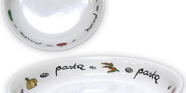 Paolo Roncci Talíř na těstoviny Pasta 21,7 cm