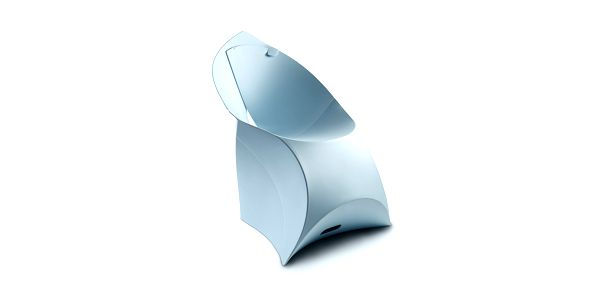 Židle Flux, modrá - vítěz ceny Grand Designs Awards 2011