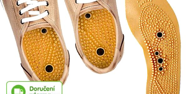 Akupresurní vložky do bot – doručení zdarma