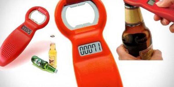 Spočítejte si, kolik piv jste vypili!! S tímto otvírákem s počítadlem je to tak jednoduché!!