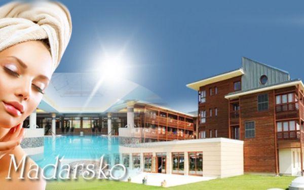 Exkluzivní relaxační dovolená v lázních Cegled v Maďarsku! Ubytování v hotelu Aquarell **** pro 2 osoby na 4 dny včetně bohaté POLOPENZE a volného VYUŽÍVÁNÍ HOTELOVÝCH LÁZNÍ! Luxusní relaxace za ještě luxusnější cenu 5 090 Kč!