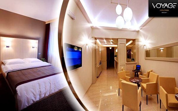 3 dny pro 2 osoby v pražském Design Hotelu Voyage