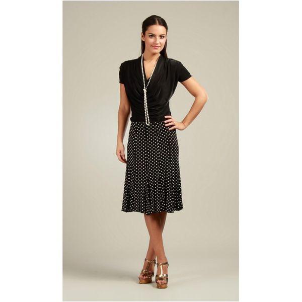 Dámská sukně 100% Parisienne Chic BENEDICTE černá
