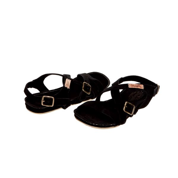 Pohodlné dámské sandály Wrangler Layla_62, černá
