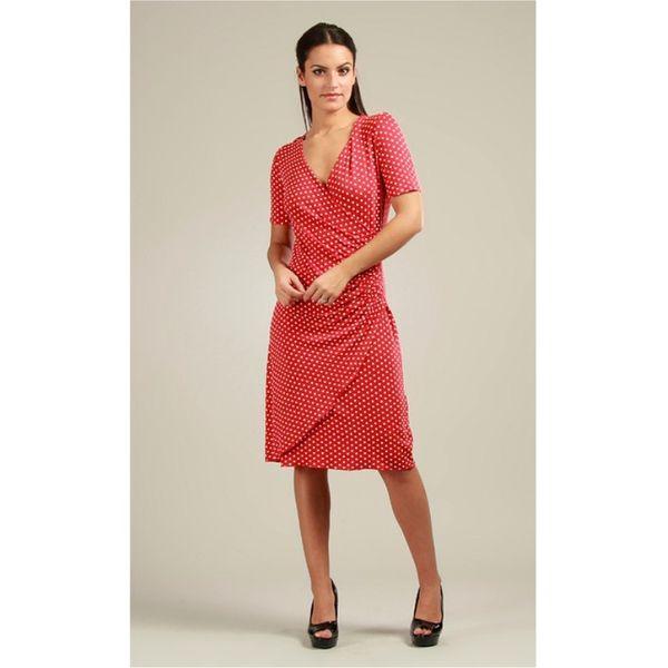 Dámské šaty 100% Parisienne Chic KELLY červené