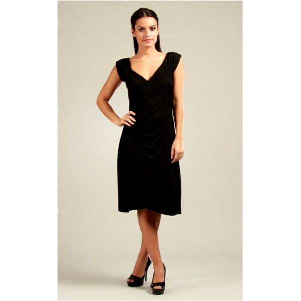 Dámské šaty 100% Parisienne Chic LOLA černé