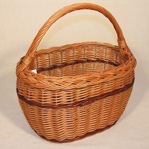 Košík vrbový nákupní 445002 AXIN trading