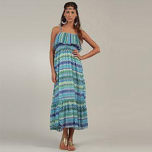 Modré šaty Michaela