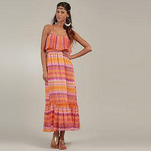 Oranžové šaty Michaela