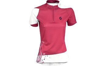 Dámský cyklistický dres Scott Shirt W´s Sumita s/sl rasp pink