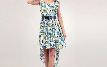 Modré šaty Lena