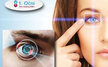 Špičková laserová operace očí jen za 9000 Kč!