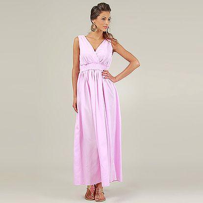 Růžové šaty Diana