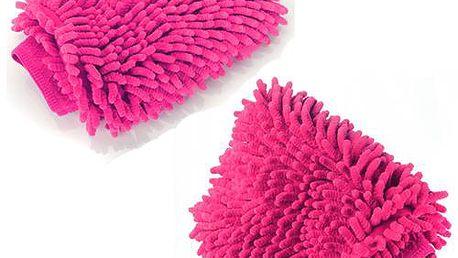 Mycí rukavice z mikrovlákna na auto a poštovné ZDARMA! - 194
