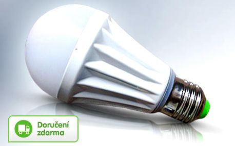 Úsporná 7W LED žárovka s čipy Samsung
