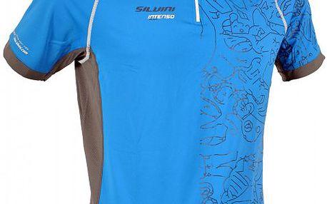 Funkční pánský cyklistický dres Silvini Intenso MD129 blue