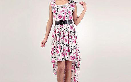 Růžové šaty Lena