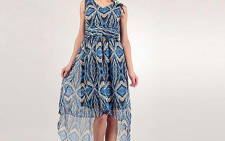 Modré šaty Nora